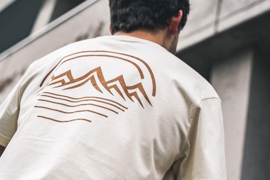 YMC x ASICS You Must Create - T-Shirt (Birch) 2
