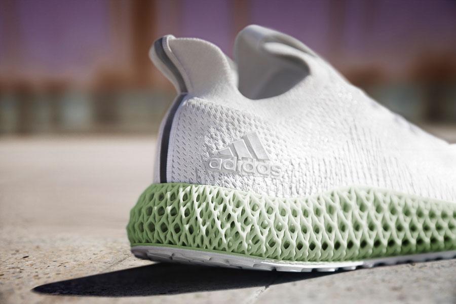 adidas ALPHAEDGE 4D White (CG5526) - Heel