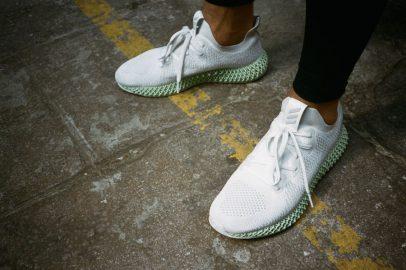 adidas ALPHAEDGE 4D White (CG5526) - On feet