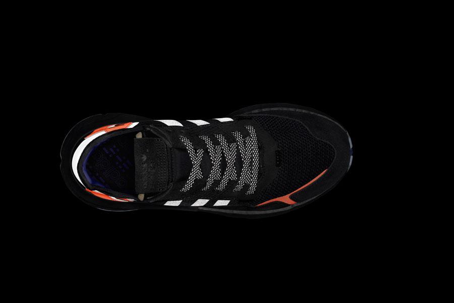 adidas NITE JOGGER Core Black Carbon Active Blue (CG7088) - Mood 5 0a85e1ba1