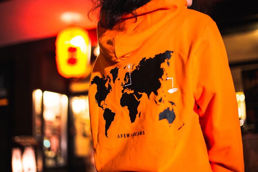 Afew x BEAMS x ASICS GEL-LYTE III Orange Koi - Capsule Collection 2