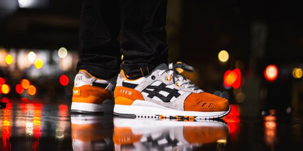 "An On-Feet Look at Afew and BEAMS' GEL-LYTE III ""Orange Koi"""
