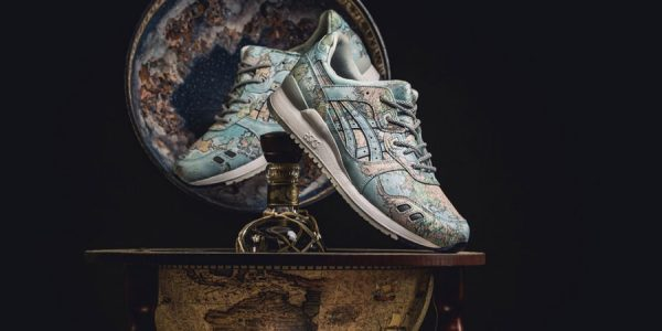 "The atmos x ASICS GEL-LYTE III ""World Map"" Has a Global Release Date"