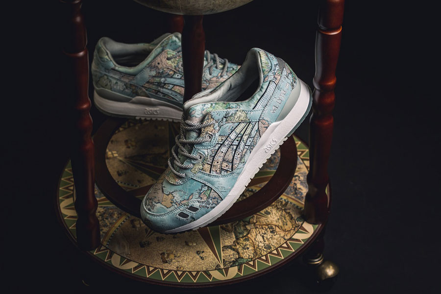 atmos x ASICS GEL-LYTE III World Map (1191A197-400) - Mood 2