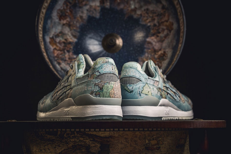 atmos x ASICS GEL-LYTE III World Map (1191A197-400) - Mood 3