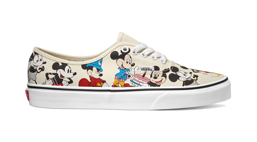 Disney x VANS Authentic Mickeys Birthday - Side