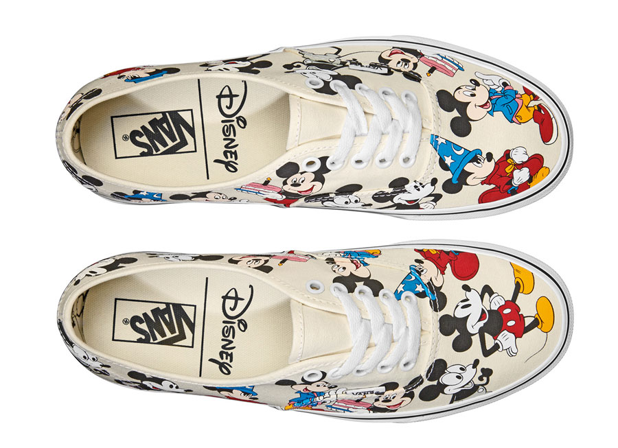 Disney x VANS Authentic Mickeys Birthday - Top
