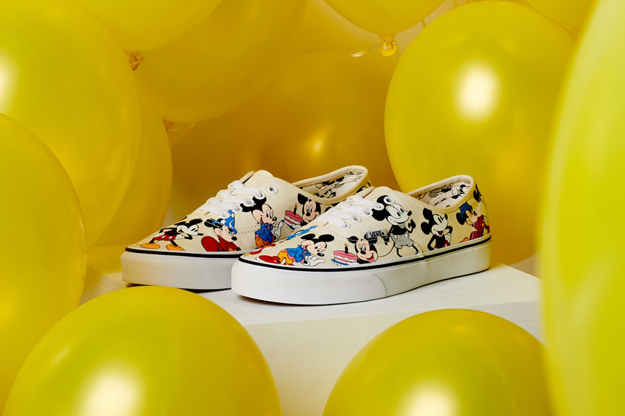Disney x VANS Authentic Mickeys Birthday