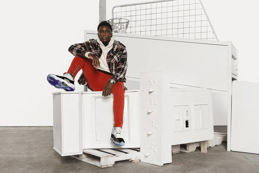 Nike Air Jordan 11 Concord 2018 Retro (378037-100) - Victor Oladipo 2