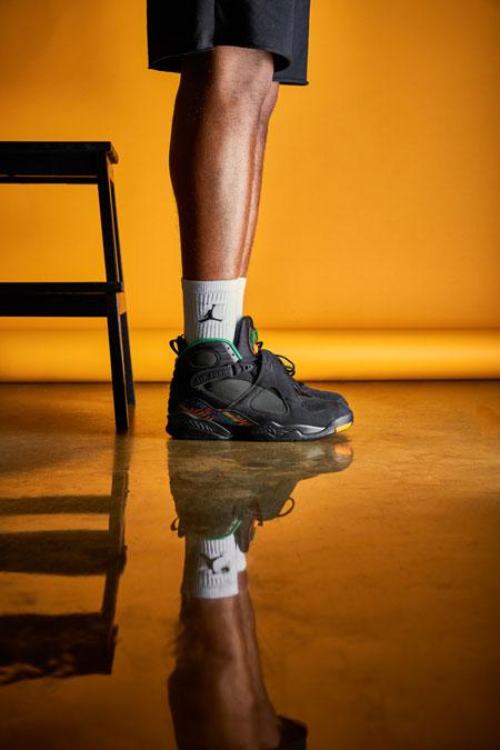 Nike Air Jordan 8 Tinker Air Raid (305381-004) - Mood 3