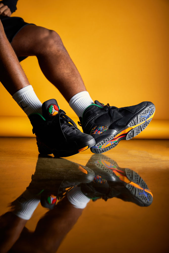 Nike Air Jordan 8 Tinker Air Raid (305381-004) - Mood 4