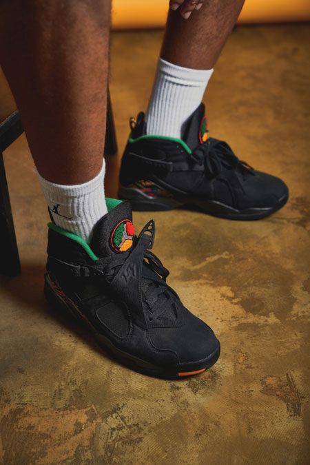 Nike Air Jordan 8 Tinker Air Raid (305381-004) - Mood 6