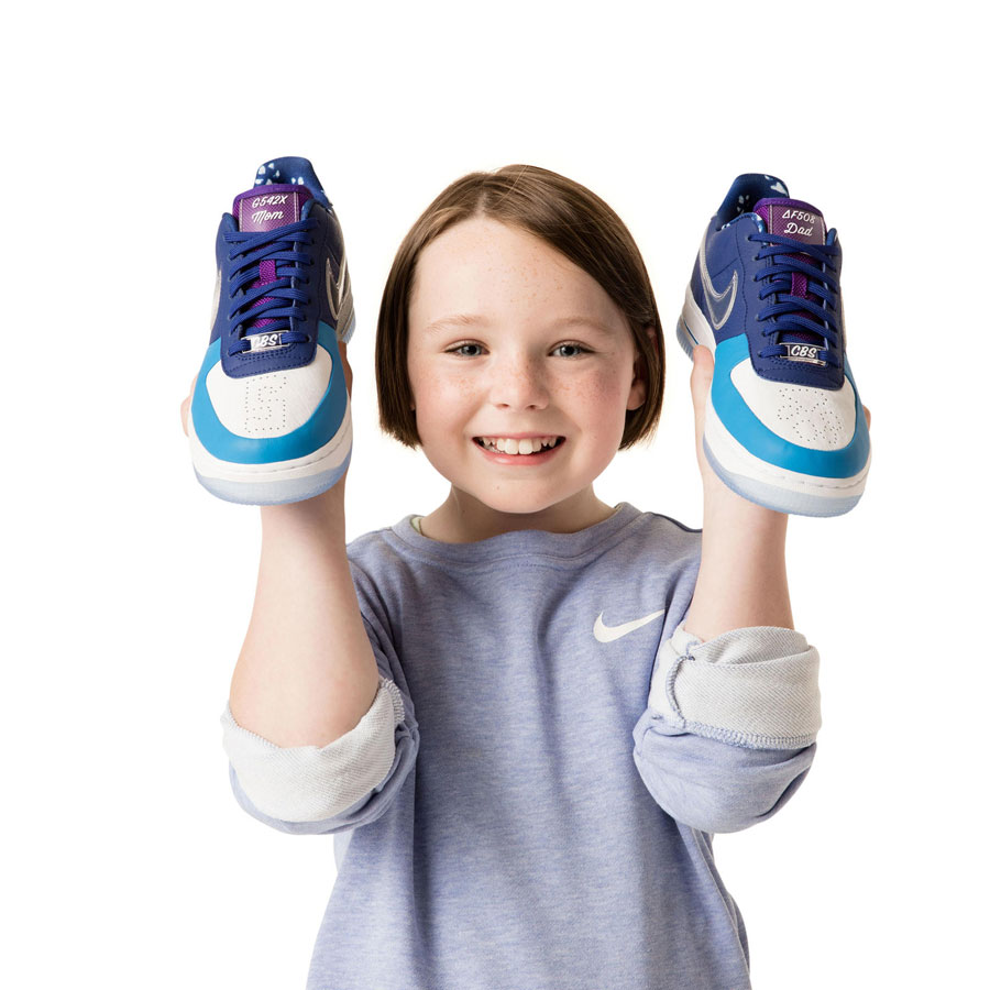 Nike Doernbecher Freestyle 2018 - Air Force 1 Low (Chloe Swientek)