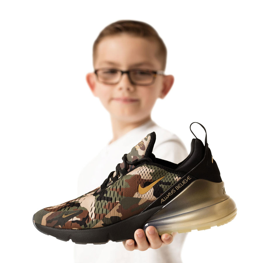 Nike Doernbecher Freestyle 2018 - Air Max 270 (Aiden Barber)