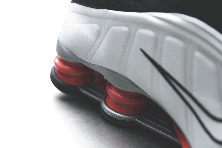 Nike Shox R4 Silver Black Red (BV1111-008) - Mood 5
