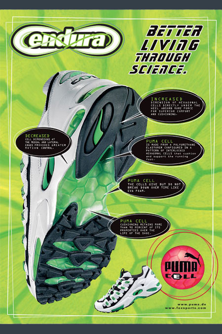PUMA CELL Endura - Technology