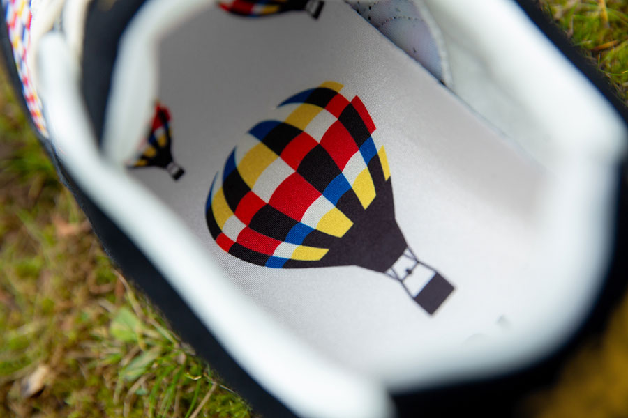size x ASICS GEL-SAGA Balloon Fiesta - Insole