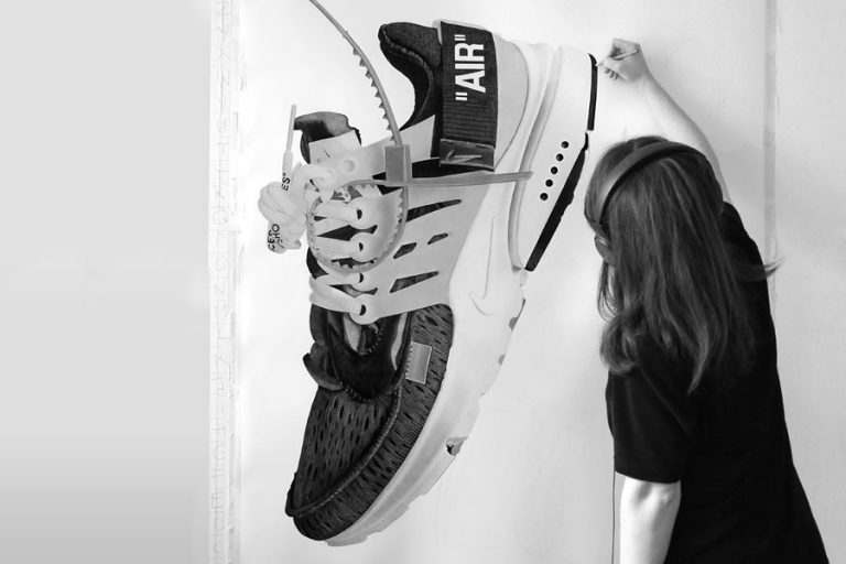 Steph Morris - Sneaker Illustrations (OFF-WHITE x Nike Air Presto)