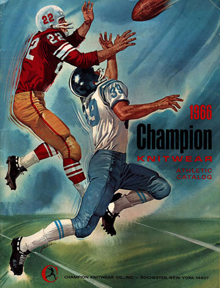 The History of Athletic Brand Champion - 1966 Catalog