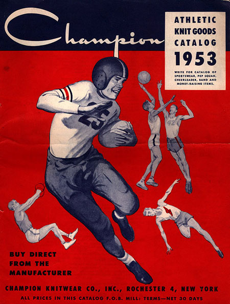 The History of Athletic Brand Champion - University Athletic Teams