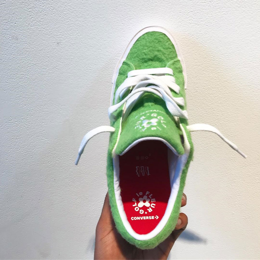 Tyler The Creator x Converse One Star GRINCH Le FLEUR - Insole