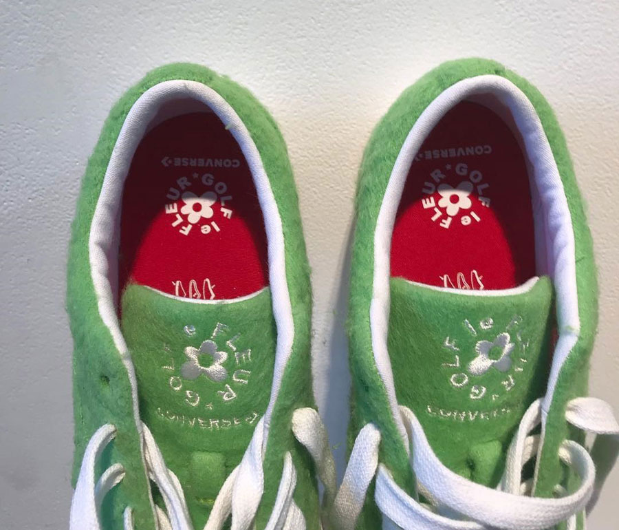 Tyler The Creator x Converse One Star GRINCH Le FLEUR - Tongue