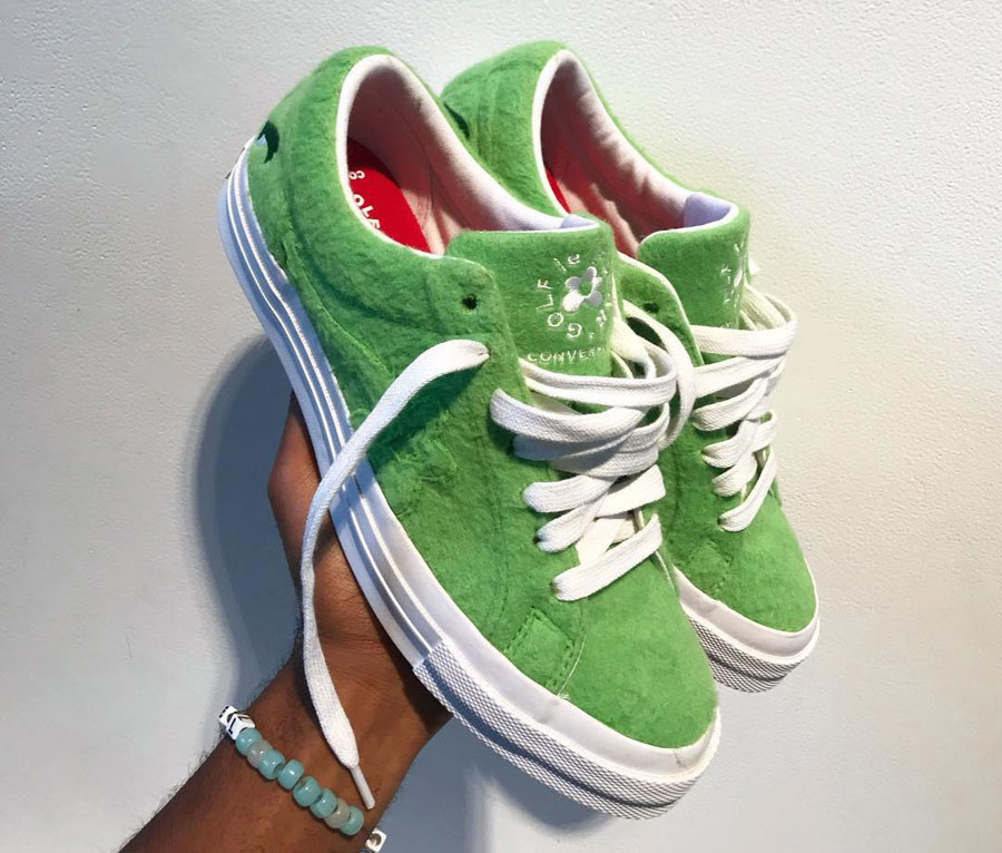 Tyler The Creator x Converse One Star GRINCH Le FLEUR