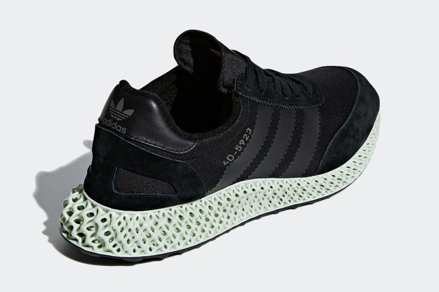 adidas Futurecraft 4D-5923 Black (EE3657) - Heel