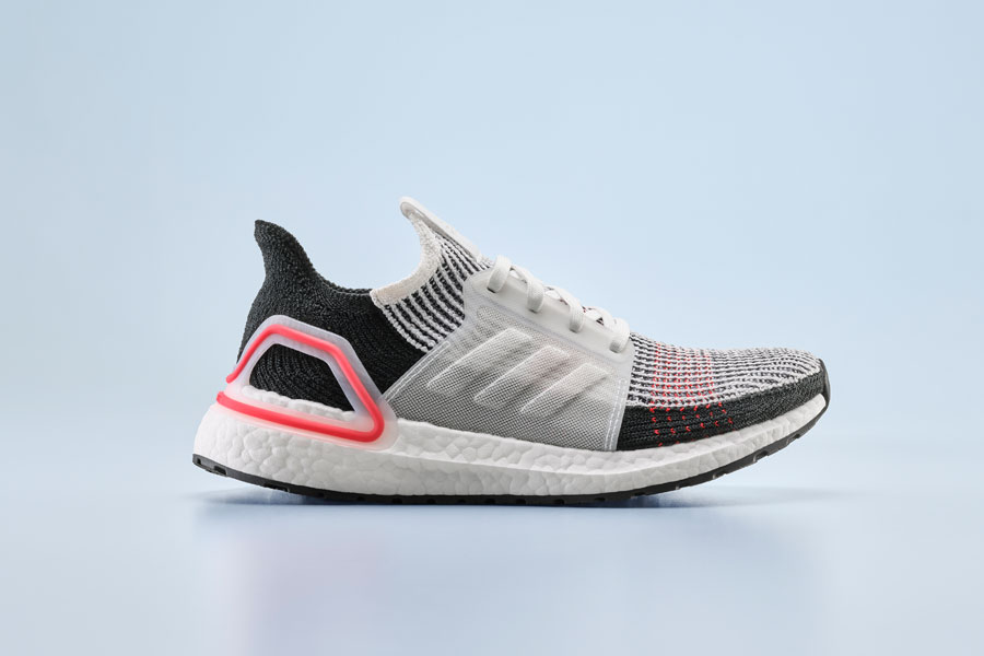 adidas UltraBOOST 19 Laser Red (B37703) - Side