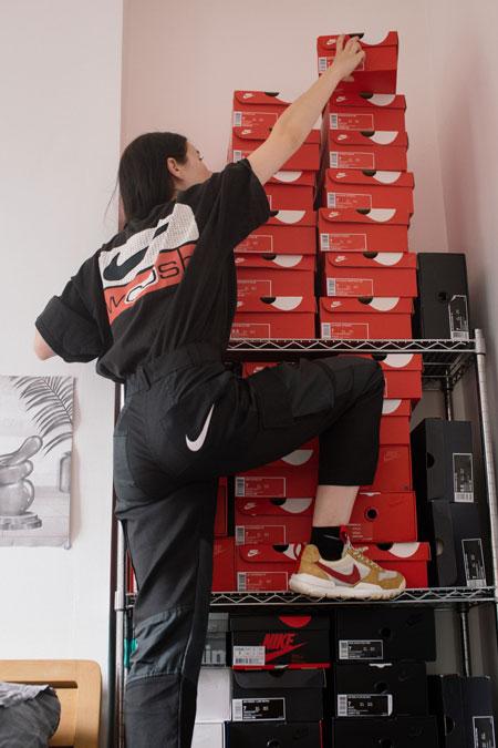 Alex Hackett miniswoosh - Nike Boxes