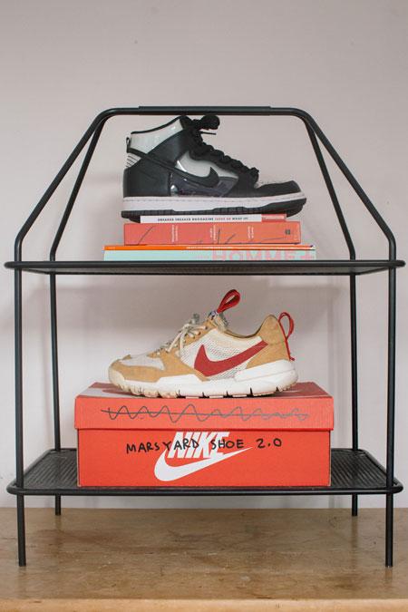 Alex Hackett miniswoosh - Nike Mars Yard 2.0