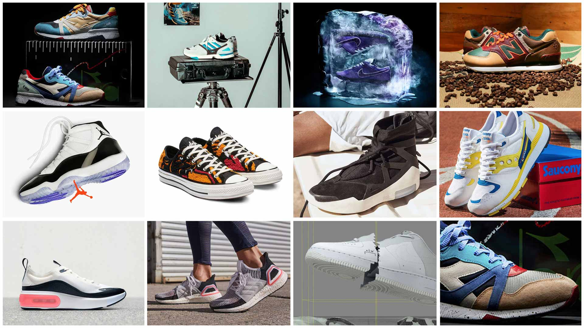 Best Sneakers of December 2018 (Slider)