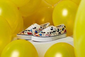 Best Sneakers of November 2018 - Disney x VANS Authentic Mickeys Birthday