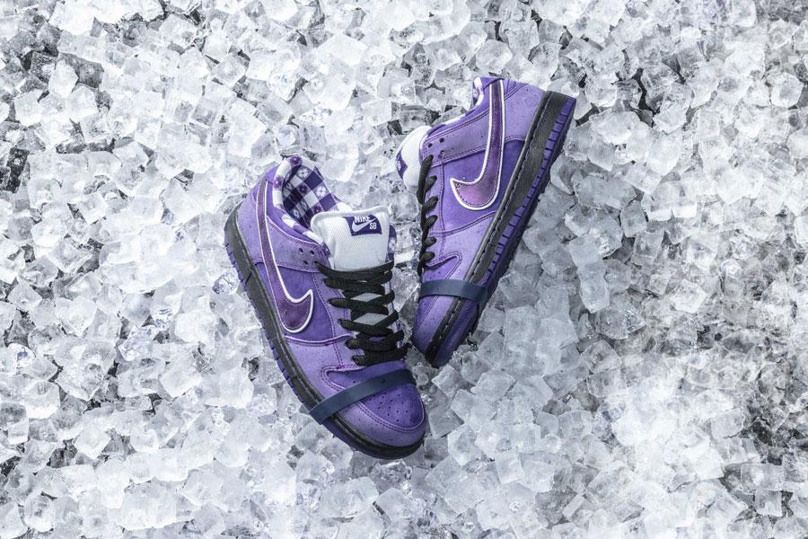 size 40 59eba aec8e CONCEPTS x Nike SB Dunk Purple Lobster | Sneakers Magazine