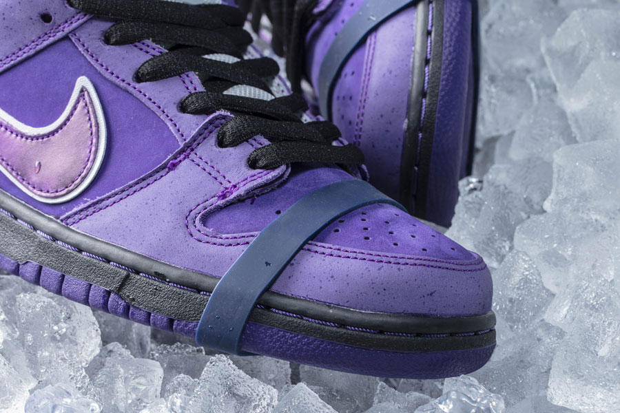 CONCEPTS x Nike SB Dunk Purple Lobster - Mood 3