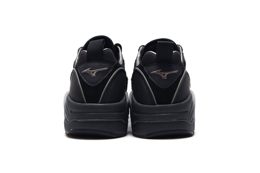 Mizuno Wave Rider 1 Black - Back