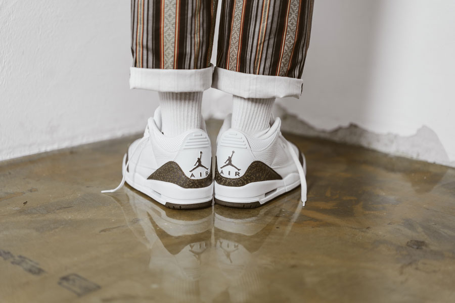 Nike Air Jordan 3 Mocha (136064-122) Retro 2018 - On feet 3