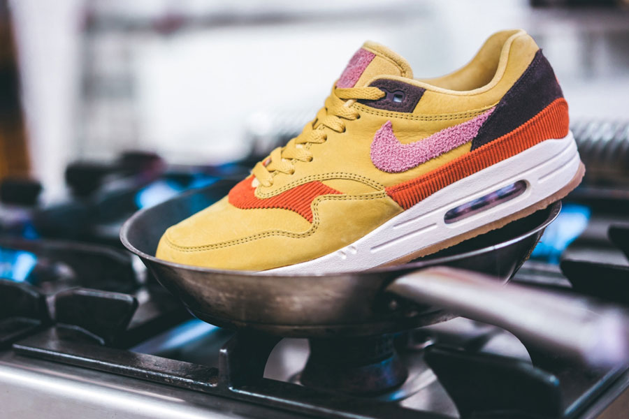 "wholesale dealer 1a1f8 14c1e Nike Cooks up the Air Max 1 ""Bacon"""
