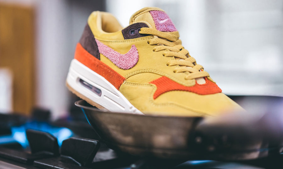 Nike Air Max 1 Bacon (CD7861-700) Wheat Gold Rust Pink Baroque Brown - Mood 2