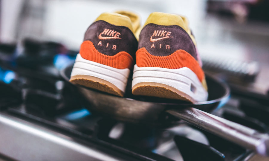 Nike Air Max 1 Bacon (CD7861-700) Wheat Gold Rust Pink Baroque Brown - Mood 3
