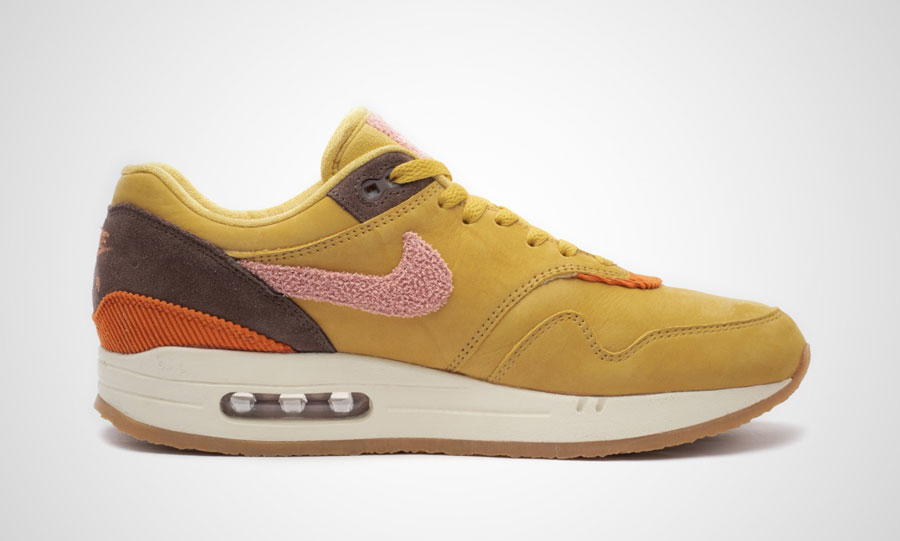 Nike Air Max 1 Bacon (CD7861-700) Wheat Gold Rust Pink Baroque Brown - Right