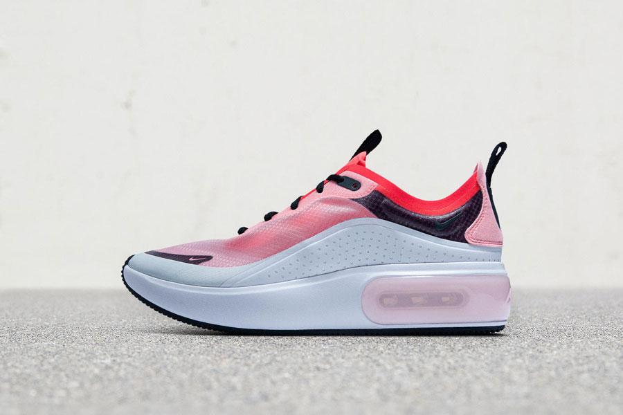 Nike Air Max Dia Off-White Flash Crimson (AV4146-100) - Left