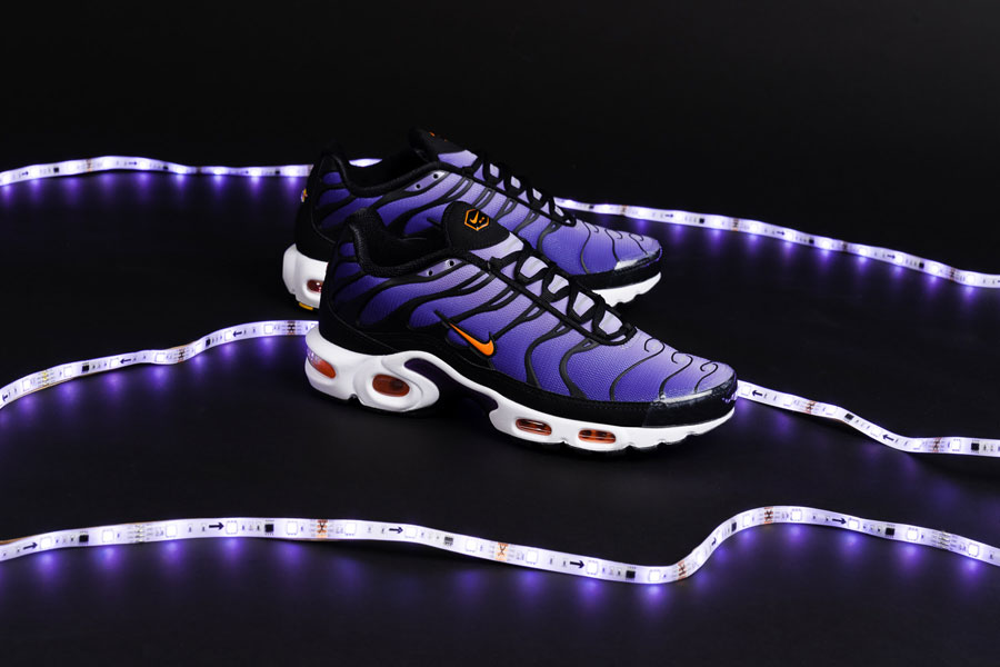 "brand new 2870a 6d52e Nike Releases the Air Max Plus in ""Voltage Purple"""