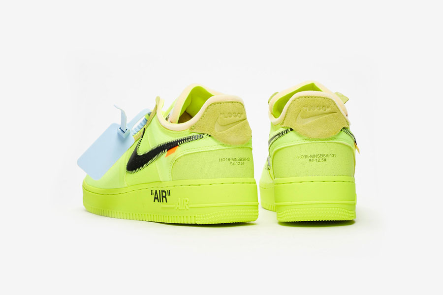 OFF-WHITE x Nike Air Force 1 Low Volt (AO4606-700) - Back