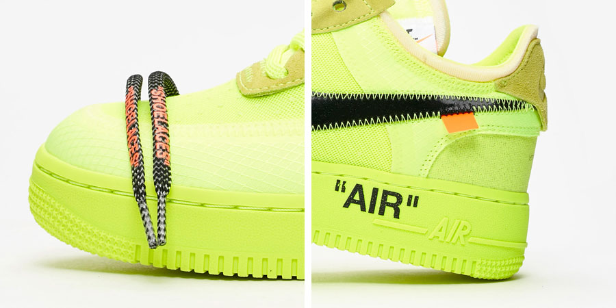OFF-WHITE x Nike Air Force 1 Low Volt (AO4606-700) - Logos