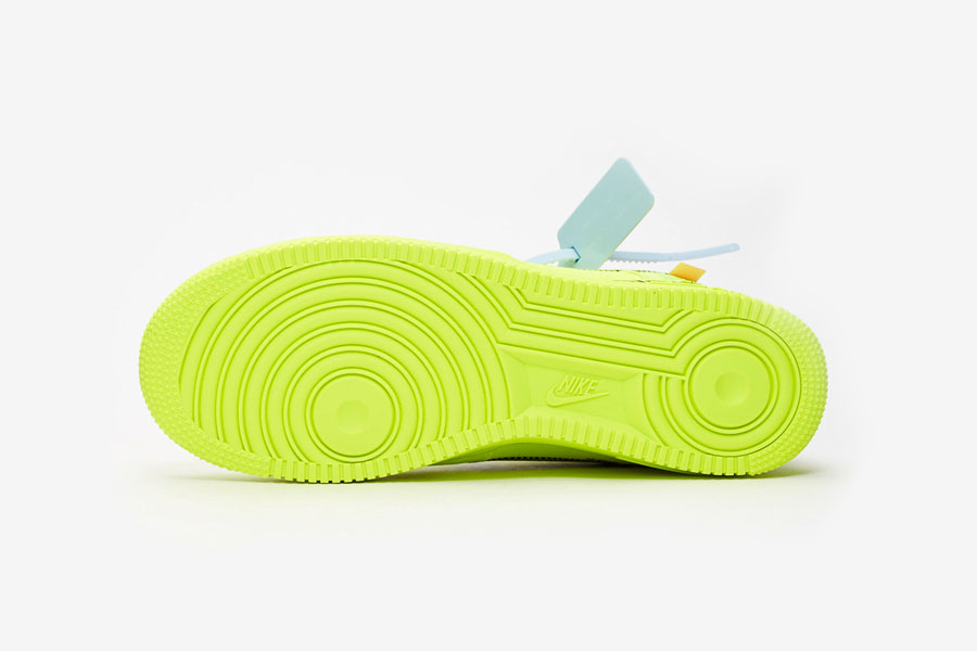 OFF-WHITE x Nike Air Force 1 Low Volt (AO4606-700) - Outsole