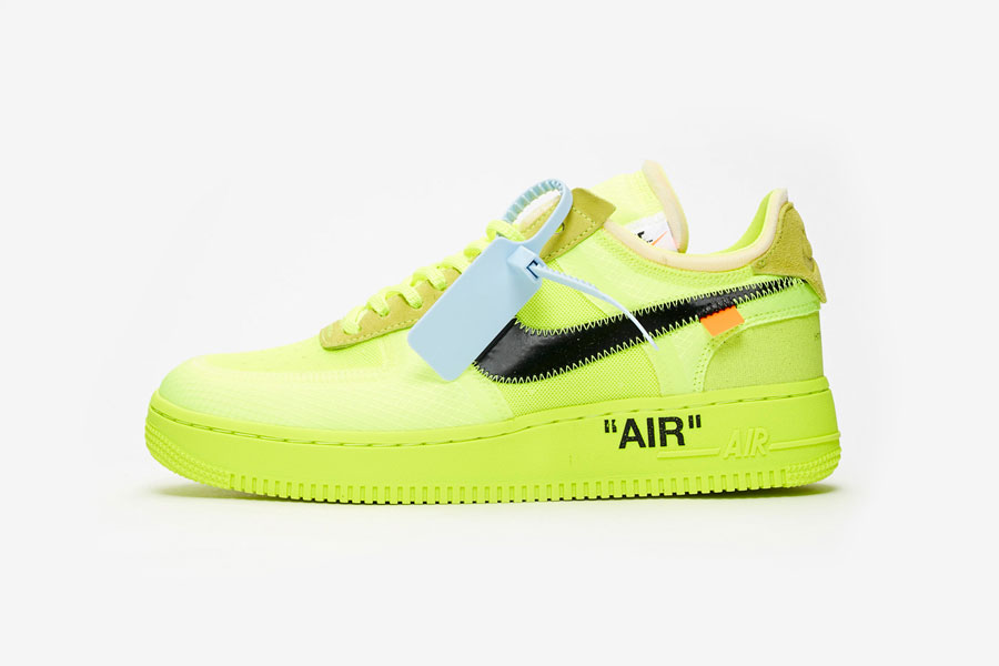 OFF-WHITE x Nike Air Force 1 Low Volt (AO4606-700) - Side