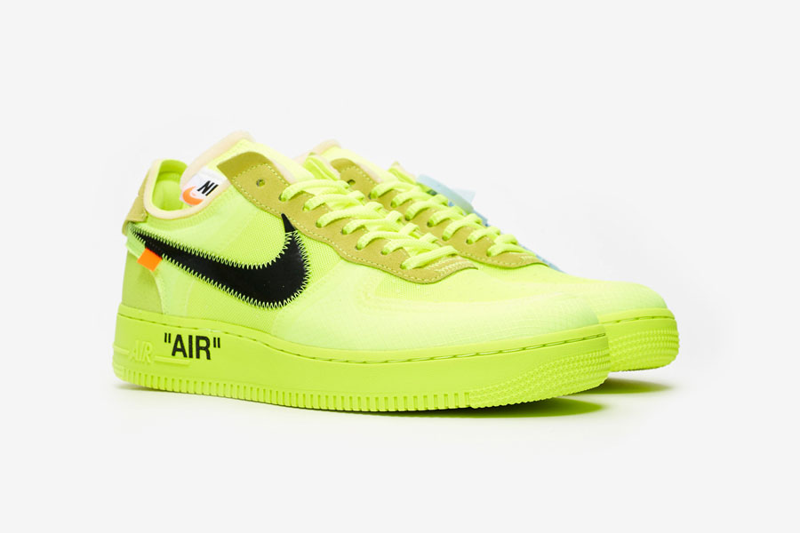 OFF-WHITE x Nike Air Force 1 Low Volt (AO4606-700)