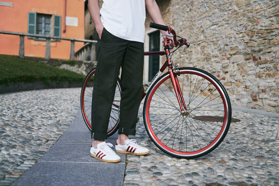 size x Colnago x adidas Trimm Star - On feet 1