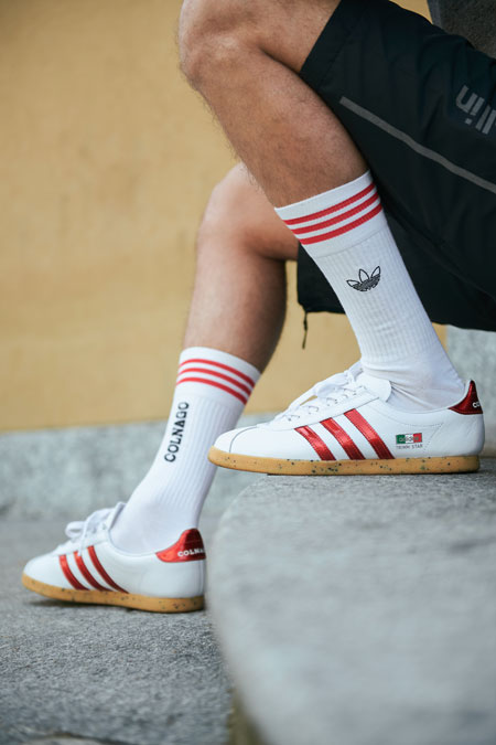 size x Colnago x adidas Trimm Star - On feet 2